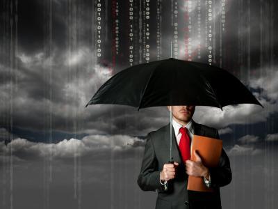 149601 man suit an umbrella the information flows p