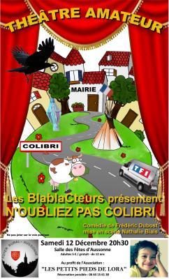 Affiche theatre 1