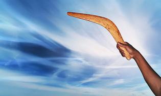 Boomerang ley de atraccion