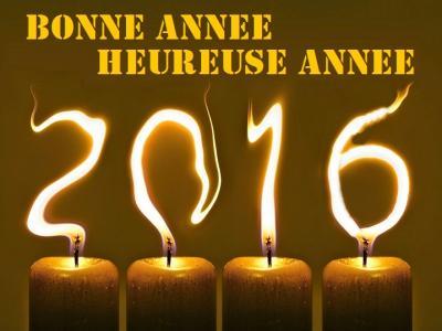 Carte voeux bonne annee 2016
