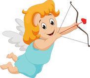 Cupidon dr le de petite fille avec le tir a l arc 66476654