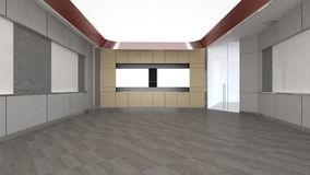 Le lieu de reunion vide dans le bureau d entreprise d rendent le desig interieur 92257391
