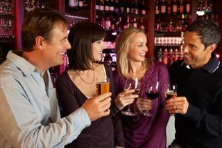 Sortir entre couples restaurant