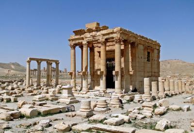 Temple of baal shamin palmyra