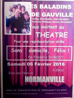 Theatre 6 fevrier normanville evreuxnormandie